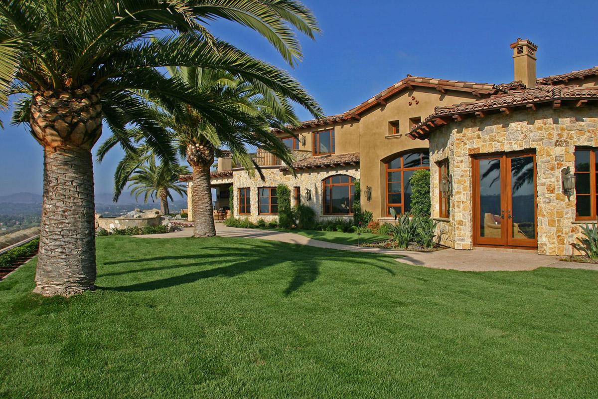 Custom Home Builders In Rancho Santa Fe Richard Doan Construction