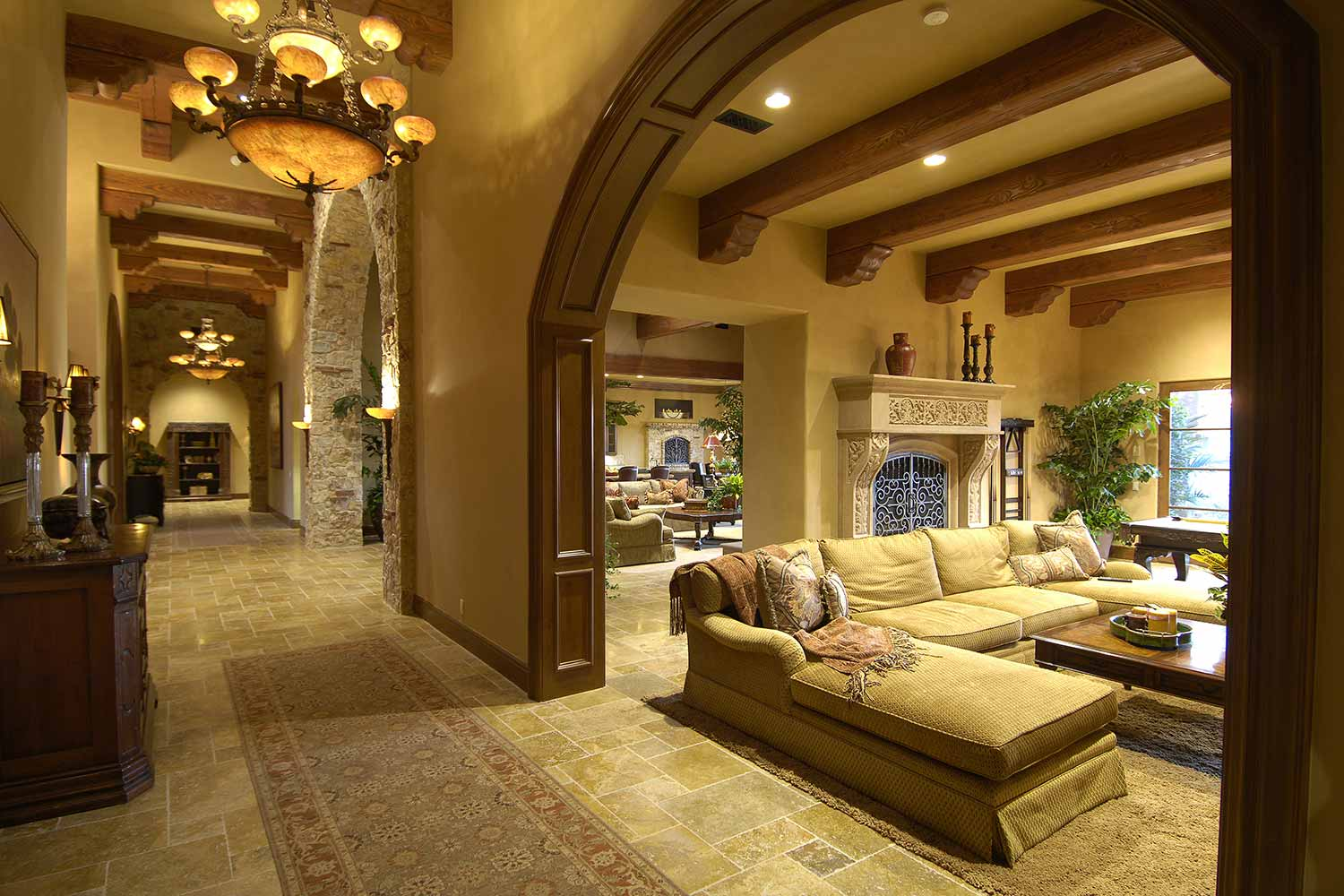 Custom home builders rancho santa fe richard doan for Custom house builder